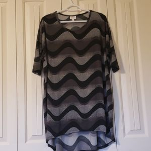 Lularoe Black, gray and white